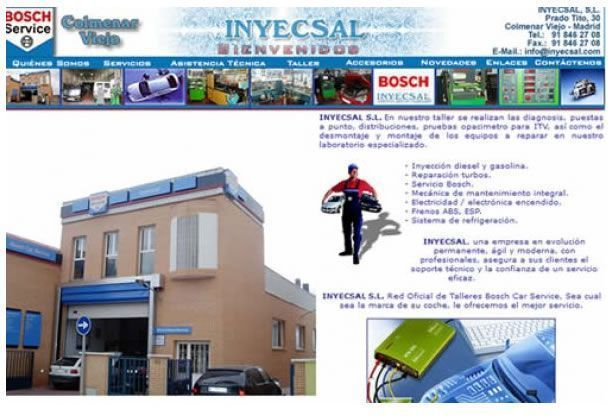 INYECSAL S.L. Red Oficial de Talleres Bosch Car Service