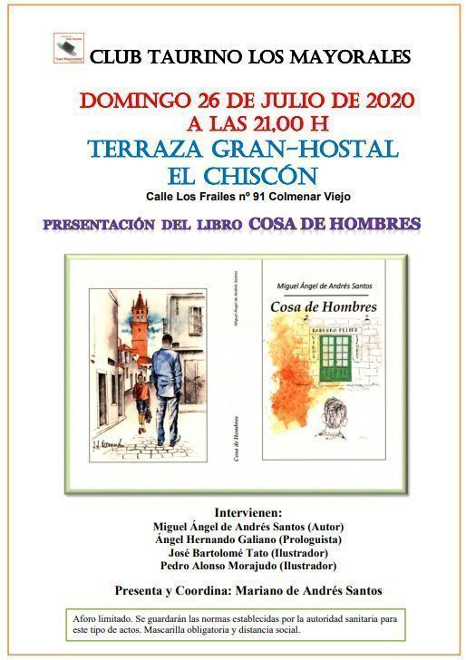 cartel conferencia club tauromaquia